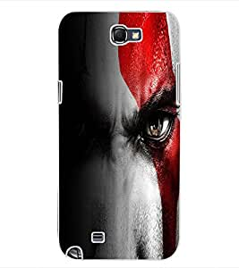 ColourCraft Eyes Design Back Case Cover for SAMSUNG GALAXY NOTE 2 N7100