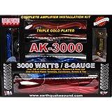 Earthquake Sound AK-3000 Complete Amplifier Installation Kit