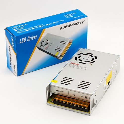 24V 15A 360W Dc Regulated Switching Power Supply