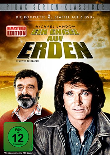 Ein Engel auf Erden, Staffel 2 (Highway To Heaven) - Remastered-Edition / Die komplette 2. Staffel der Kult-Serie mit Michael Landon (Pidax Serien-Klassiker) [6 DVDs]