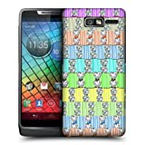 Head Case Bling Arm Candy Design Glossy Hard Back Case For Motorola Razr I Xt890