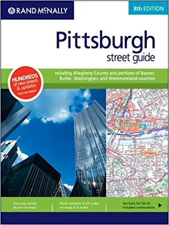 Rand Mcnally Pittsburgh/Allegheny County, Pennsylvania (Rand McNally Pittsburgh Street Guide: Including Allegheny County)