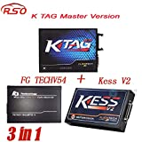MB STAR Dig Full Set ECU Programmer FGTECH V54 FGTECH Galletto 4 Master + Kess V2 V2.25 + KTAG V6.070 K TAG K-TAG V2.13 No Tokens Limited