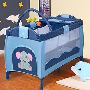 Amazon Com Giantex Portable Baby Crib Playpen Playard