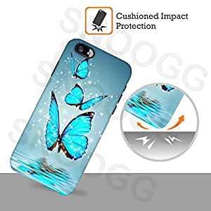 Snoogg seamless floral pattern abstract background Hard Back Case Cover Shield For Samsung Galaxy A8 4G