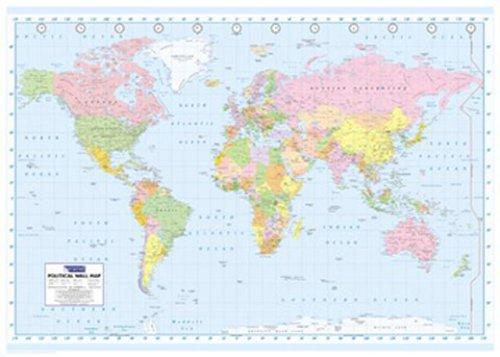 Weltkarten - Politische Weltkarte Poster