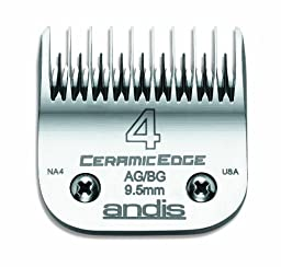 Andis Ceramic #4 Skip Tooth Blade, 3/8\