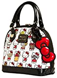 Loungefly-Hello-Kitty-Multi-Kitty-White-Embossed-Mini-Dome