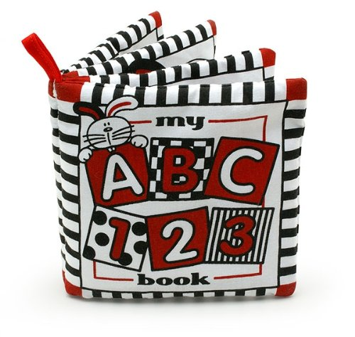 Baby's My First ABC Cloth Book - Black, White & Red