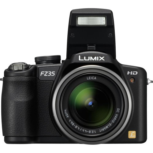 Panasonic Lumix DMC-FZ35 is one of the Best Point and Shoot Digital Cameras Overall Under $450 with at least 15x Optical Zoom