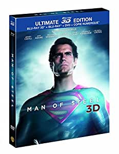 Man of Steel - Ultimate Edition Limitée - DVD + Blu-Ray + Blu-Ray 3D + Copie Numérique [Blu-ray 3D] [Ultimate Edition - Blu-ray 3D + Blu-ray + DVD + Copie digitale]