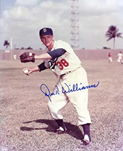 Dick Williams (D. 2011 HOF) Autographed  Original Signed 8x10 Color Photo Showing Him... by Original Sports Autographs
