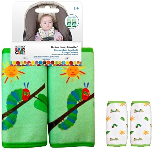 Eric Carle Reversible Car Seat Strap Covers  2 Sets - 1