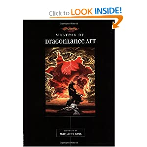 Masters of Dragonlance Art (Dragonlance: Artbooks) by Margaret Weis