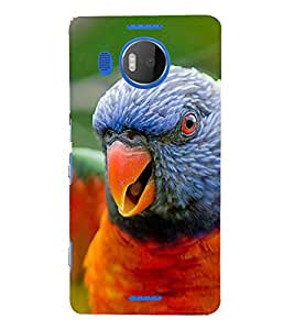 Ebby Premium Printed Mobile Back Case Cover With Full protection For Nokia Lumia 950XL (Designer Case)