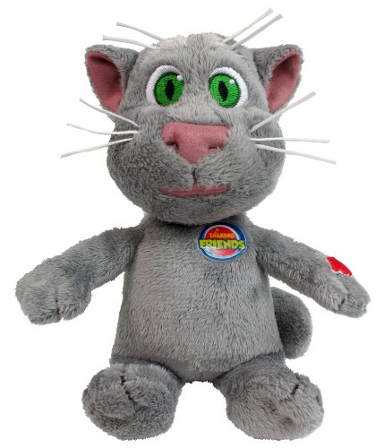 Talking Friends 8-Inch Talking Tom Plush Toy With Sounds