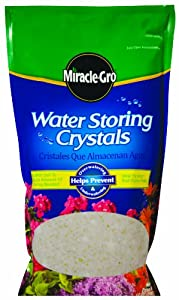 Miracle-Gro 100831 Water Storing Crystals Mixing Bag, 12-Ounce