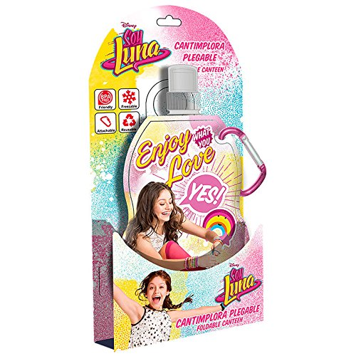 Soy Luna - Cantimplora enrollable, 24 cm (Kids WD18021)