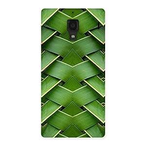 Leaf Fold Print Back Case Cover for Redmi 1S