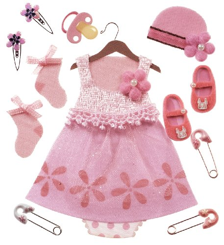 Jolee'S Boutique Dimensional Stickers, Baby Girl Outfit