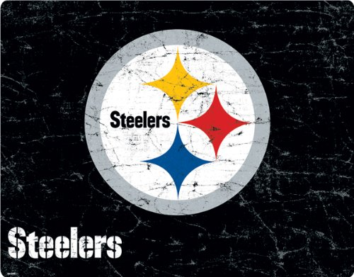 NFL - Pittsburgh Steelers - Pittsburgh Steelers Distressed - Motorola Droid 4 - Skinit Skin by Skinit