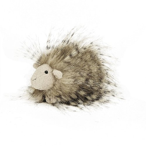 """Jellycat® Fluffy Guinea Pig - 3"""" front-1018089"""