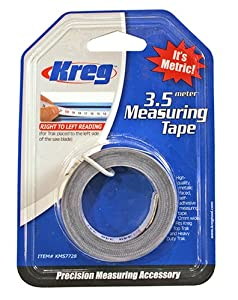 Kreg KMS7728 3.5 Meter Self Adhesive Measuring Tape (R to L)
