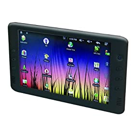 Pyrus Electronics M70 7-Inch Internet Touchscreen Tablet with Built in Back Camera, HDMI port, WIFI and much more- Black
