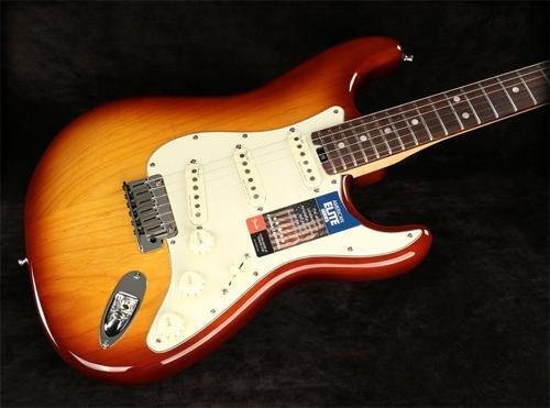 Fender American Elite Stratocaster Electric Guitar Tobacco Sunburst (SN:US16071325) (Fender Elite Stratocaster compare prices)