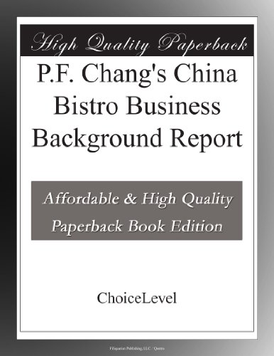 pf-changs-china-bistro-business-background-report
