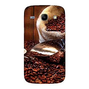 Gorgeous Coffee Beans Brown Back Case Cover for Galaxy Core