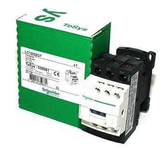 Telemecanique lc1d32g7 contactor 15kw 20hp schneider for Schneider motor starter selection guide