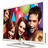 "Sceptre 32"" 720p 60Hz Class LED HDTV with Built-In DVD Player, White"
