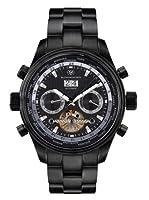 Mathis Montabon Reloj automático Mm-08 Globe Trotter  Negro 45  mm