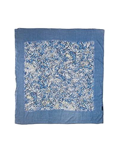 Piunobile Foulard Cotton Voile 100X100 Kardhan Grigio