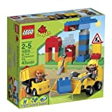 Game / Play LEGO DUPLO My First Construction Site 10518. Minifigure Collectible Playset Worker Toy / Child / Kid