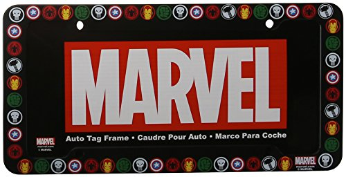 Chroma 42524 Marvel Heroes Plastic Frame (License Plate Frame Marvel compare prices)
