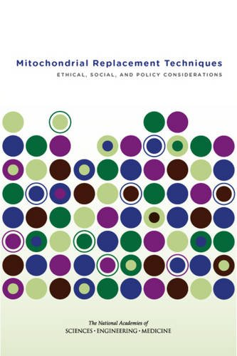 Large book cover: Mitochondrial Replacement Techniques