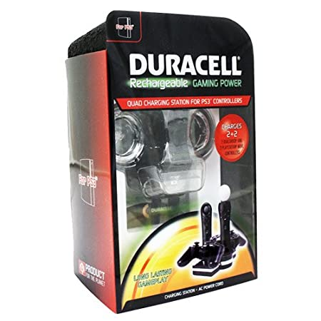 Duracell Rechargeable Gaming Power for PS3 Move Controller