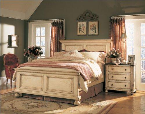 Hooker Furniture Sable Creek Bedroom Series Sable Creek Panel Bedroom Set  In Antique White Friday, April 17, 2009