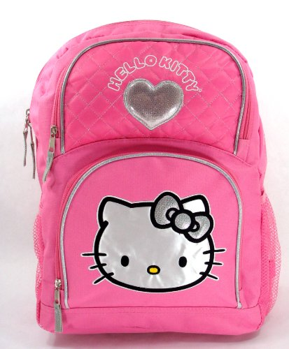 Sanrio Hello Kitty Pink Large Backpack [HEART]