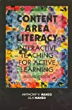 Content Area Literacy: Interactive Teaching for Active Learning [ペーパーバック] / Anthony V. Manzo, Ula Casale Manzo, Ula Manzo (著); Merrill Pub Co (刊)
