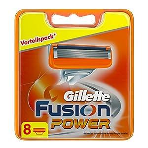 Gillette Fusion Power Klingen 8 Stück eCommerce, 1er Pack (1 x 8 Stück)