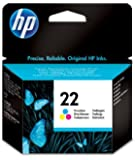 HP 22 (C9352AE) Tri-Colour Ink Cartridge