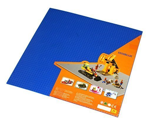 Blue Lego Compatible X Large Baseplate, Building Base Plate, 50x50 ...