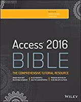 Access 2016 Bible Front Cover
