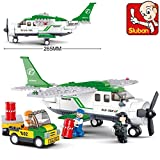 Sluban Building Blocks Aviation Trans Port Plane B0362 251pcs Compatible