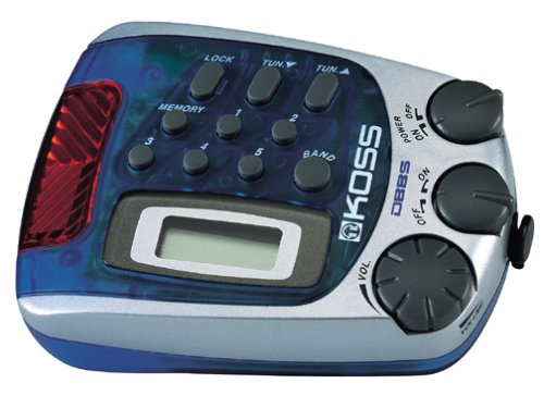 Koss PP257B Water-Resistant Sports Arm Band Radio (Blueberry)