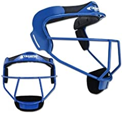 Champro the Grill Softball Fielders Mask - Royal - Adult