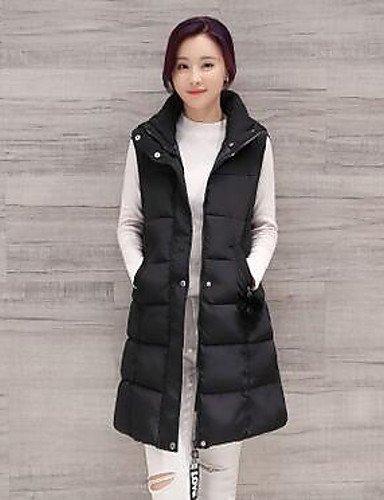 giubbino-da-donna-casual-semplice-autunnotinta-unita-colletto-alla-coreana-poliestere-nero-senza-man